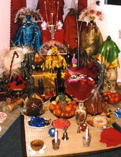 An Orisa Altar