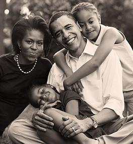 Obama Family Interview