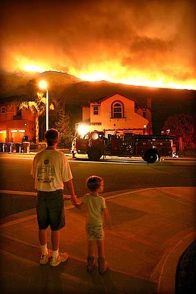 Opie Burnt the Mountain