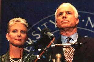 John and Cindy McCain