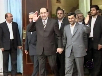 Ahmadinejad in Iraq