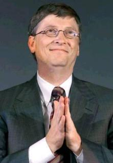 Bill Gates Prays