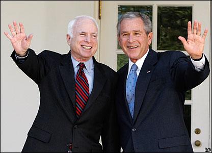 McCain & Bush