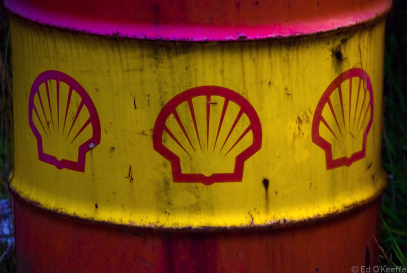 shell oil barrel Shell Accused of Ditching Panel Warranties in Developing World