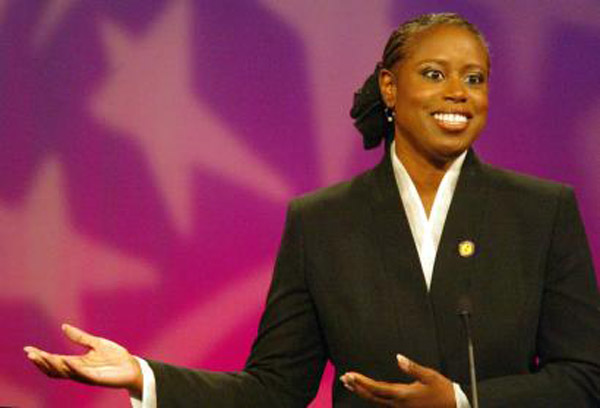 cynthia a mckinney All of us have voices in our heads, whispering insanities rep cynthia mckinney's problem is that she lets hers speak she's the christopher walken ch.