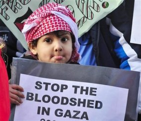 BRITAIN MIDEAST GAZA