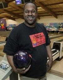 Obama Special Olympics Bowler