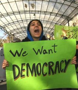 IraniansWantDemocracy