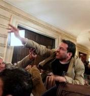 CORRECTION Iraq Shoe Thrower