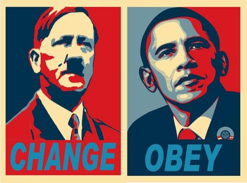 Nacizam za neupucene Obama_hitler1