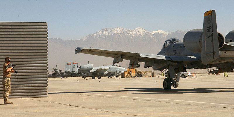The Attack On Bagram Air Base