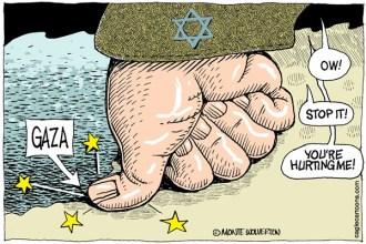 Monte Wolverton Gaza Attack